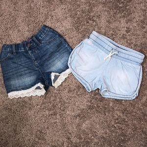 💗4T Jean Shorts Bundle💗